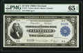 Low Serial Number D493A Fr. 757 $2 1918 Federal Reserve Bank Note PMG Gem Uncirculated 65 EPQ