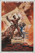"""Movie Posters:Action, Hercules & Other Lot (MGM/UA, 1983). Folded, Very Fine. One Sheets (4) (27"""" X 41"""" & 26"""" X 40""""). Action.. ... (Total: 4 Items)"""