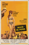 """Movie Posters:Comedy, Made in Paris (MGM, 1966). Folded, Fine/Very Fine. One Sheet (27"""" X 41""""). Comedy.. ..."""