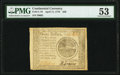 Continental Currency April 11, 1778 $20 PMG About Uncirculated 53