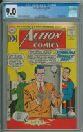 Silver Age (1956-1969):Superhero, Action Comics #282 (DC, 1961) CGC VF/NM 9.0 Off-white pages.