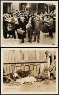 """Movie Posters:Comedy, A Dog's Life (First National, 1918). Very Fine-. Lobby Cards (2) (8"""" X 10""""). Comedy.. ... (Total: 2 Items)"""