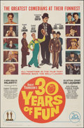 """Movie Posters:Comedy, 30 Years of Fun & Other Lot (20th Century Fox, 1963). Folded, Overall: Fine/Very Fine. One Sheets (2) (27"""" X 41""""). Comedy.. ... (Total: 2 Items)"""