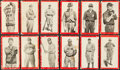 Baseball Cards:Lots, 1910 T210 Old Mill Series 1 - 3 Collection (12). ...