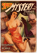 Pulps:Horror, Spicy Mystery Stories - August 1939 (Culture) Condition: VG....