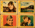 """Movie Posters:Academy Award Winners, Wings (Paramount, 1927). Fine+. Linen Finish Lobby Cards (4) (11"""" X 14"""").. ... (Total: 4 Items)"""