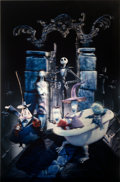 """Movie Posters:Animation, The Nightmare Before Christmas (Touchstone, 1993). Very Fine/Near Mint. Barrier Strip (Lenticular Type 3-D) One Sheet (27"""" X..."""