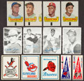 Baseball Cards:Lots, 1960's Topps And Fleer Baseball Insert Collection (195). ...