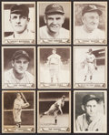Baseball Cards:Lots, 1939 Through 1941 Play Ball Collection (30) With Wagner, Mathewson, Johnson, Foxx. ...