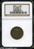 Patterns: , 1856 Half Cent, Judd-177, Pollock-205, R.5, PR 45 NGC. ...