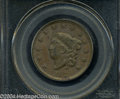 "1826 1C MS63 Brown PCGS. The current Coin Dealer Newsletter (Greysheet) wholesale ""bid"" price is $830.00....(P..."