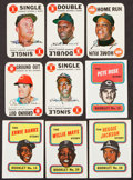 Baseball Cards:Sets, 1968 and 1970 Topps Baseball Inserts Complete Set (2). ...