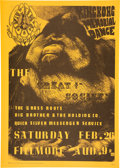 "Music Memorabilia:Posters, FD-2 ""King Kong Memorial Dance"" 1966 Second Printing Family Dog Fillmore Concert Poster. ..."