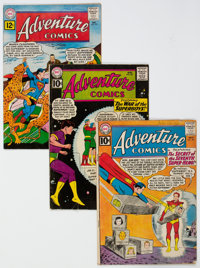 Adventure Comics Group of 19 (DC, 1961-66) Condition: Average VG+.... (Total: 19 Comic Books)