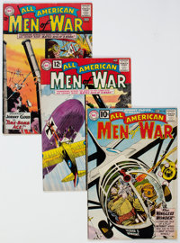 All-American Men of War Group of 15 (DC, 1961-66) Condition: Average VG-.... (Total: 15 Comic Books)