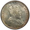 Canada: Edward VII 5 Cents 1902 MS65 PCGS