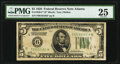 Small Size:Federal Reserve Notes, Fr. 1950-F* $5 1928 Federal Reserve Note. PMG Very Fine 25.. ...