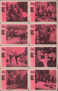 "Movie Posters:Academy Award Winners, West Side Story (United Artists, 1961). Fine/Very Fine. Lobby Card Set of 8 (11"" X 14""). Academy Award Winners.. ... (Total: 8 Items)"