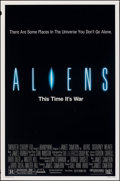 """Movie Posters:Science Fiction, Aliens (20th Century Fox, 1986). Rolled, Very Fine-. One Sheet (27"""" X 41""""). Science Fiction.. ..."""