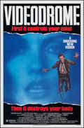 """Movie Posters:Fantasy, Videodrome (Universal, 1983). Rolled, Very Fine+. One Sheet (27"""" X 41""""). Fantasy.. ..."""