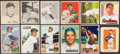 Baseball Cards:Lots, 1948 Through 1952 Bowman, Leaf & Wheaties Collection (80). ...