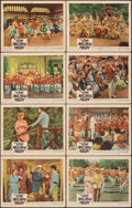"""Movie Posters:Musical, The Music Man (Warner Bros., 1962). Fine/Very Fine. Lobby Card Set of 8 (11"""" X 14""""). Musical.. ... (Total: 8 Items)"""