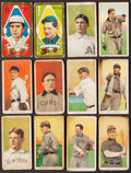 Baseball Cards:Lots, T205 Gold Border and T206 White Border Baseball Collection (64). ...