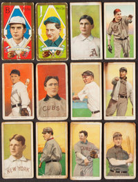 T205 Gold Border and T206 White Border Baseball Collection (64)