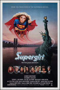 "Supergirl & Other Lot (Tri-Star, 1984). Rolled, Very Fine. One Sheets (3) (27"" X 41"", 26.75"" X 39.75&..."