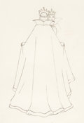Animation Art:Production Drawing, Snow White and the Seven Dwarfs Evil Queen Drawing (Walt Disney, 1937)....