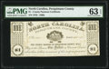 (Hertford), NC- Perquimans County $1 Apr, 25, 1862 PMG Choice Uncirculated 63 EPQ