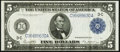 Fr. 855a $5 1914 Federal Reserve Note Very Fine