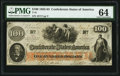 Confederate Notes:1862 Issues, T41 $100 1862 10 Cr. 315A PF-PMG Choice Uncirculated 64.. ...