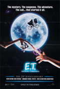 """Movie Posters:Science Fiction, E.T. The Extra-Terrestrial (Universal, R-2002). Folded, Very Fine. International One Sheet (26.75"""" X 39.5"""") SS, 20th Anniver..."""