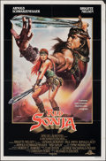 """Movie Posters:Action, Red Sonja (MGM, 1985). Folded, Fine/Very Fine. One Sheet (27"""" X 41"""") SS. Renato Casaro Artwork. Action.. ..."""