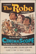 "Movie Posters:Drama, The Robe (20th Century Fox, 1953). Folded, Fine/Very Fine. One Sheet (27"" X 41""). Drama.. ..."