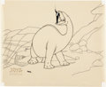 Animation Art:Limited Edition Cel, Gertie the Dinosaur Limited Edition Cel Artist's Proof #1 (Winsor McCay, 1990)....