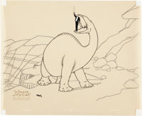 Gertie the Dinosaur Limited Edition Cel Artist's Proof #1 (Winsor McCay, 1990)