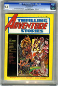 Magazines:Miscellaneous, Thrilling Adventure Stories #1 (Atlas-Seaboard, 1975) CGC NM+ 9.6Off-white to white pages. Tigerman and Kromag the Killer b...