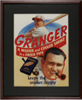 Baseball Collectibles:Others, Circa 1930s Johnny Mize Granger Tobacco Advertisement. Whollyimpressive not only for its exceptional color retention after...