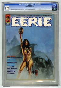 Eerie #35 (Warren, 1971) CGC NM- 9.2 (No paper quality indicated by CGC)