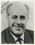 Autographs:Photos, Red Auerbach Signed Photograph. Due to the recent passing of theorchestrator of the most lauded dynasty in American basket...