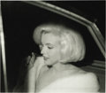 "Movie/TV Memorabilia:Photos, Marilyn Monroe Negatives. Irv Steinberg's profile shot of Monroe,after the triumph of her ""Happy Birthday"" song appearance ..."