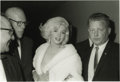 Movie/TV Memorabilia:Photos, Marilyn Monroe Picture and Negative. Marilyn Monroe looks rightinto the lens of Irv Steinberg's adoring camera in this rapt...