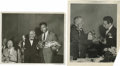 Boxing Collectibles:Memorabilia, 1943-51 Willie Pep and Sugar Ray Robinson Service Photographs Lot of 2. The founder and editor-in-chief of The Ring box...