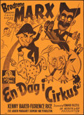 "Movie Posters:Comedy, At the Circus (UIP, R-1980s). Folded, Very Fine-. Danish Poster (24.25"" X 33.25""). Comedy.. ..."