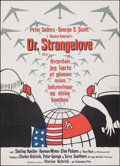 Movie Posters:Comedy, Dr. Strangelove or: How I Learned to Stop Worrying and Love the Bomb (Columbia, 1964). Folded, Very Fine-. Danish Poster (24...