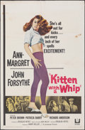"""Movie Posters:Bad Girl, Kitten with a Whip (Universal, 1964). Folded, Fine. One Sheet (27"""" X 41""""). Bad Girl.. ..."""
