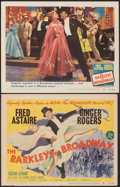 "Movie Posters:Musical, The Barkleys of Broadway (MGM, 1949). Fine+. Title Lobby Card & Lobby Card (11"" X 14""). Musical.. ... (Total: 2 Items)"