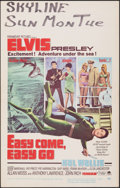 """Movie Posters:Elvis Presley, Easy Come, Easy Go & Other Lot (Paramount, 1967). Very Fine-. Window Cards (2) (14"""" X 22""""). Elvis Presley.. ... (Total: 2 Items)"""